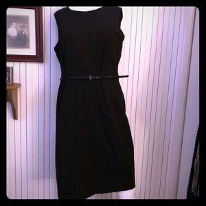 Size 16 Calvin Klein Sheath Dress (black)